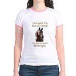 Boyfriend Allergic Horse Jr. Ringer T-Shirt