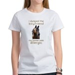 Boyfriend Allergic Horse Women's T-Shirt