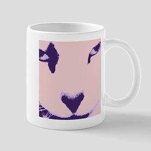 Pop Art Cat Closeup Mug