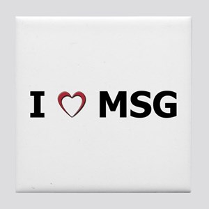 I 'Heart' MSG Tile Coaster