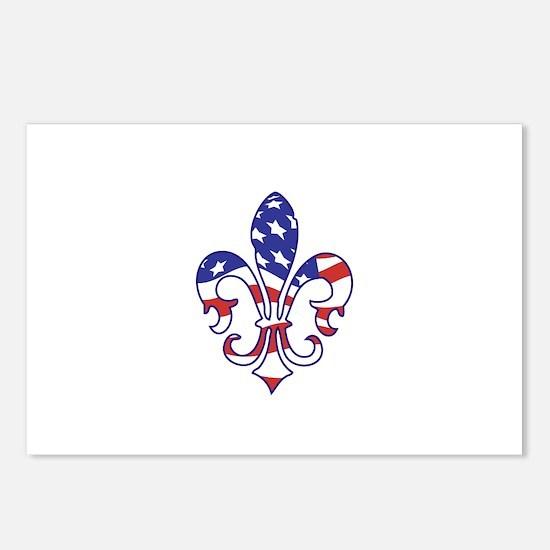 Patriotic Postcards (Package of 8)