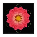 Dahlia Hybrid I Tile Coaster
