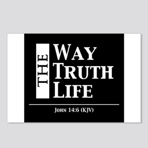 The Way, The Truth, The L Postcards (Package of 8)