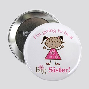 """Ethnic Big Sister To Be 2.25"""" Button"""