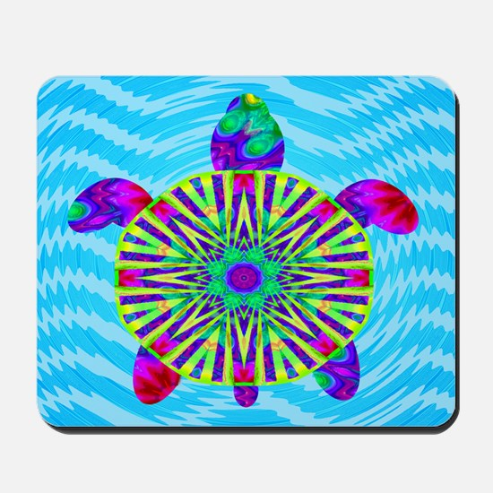 Colorful Sea Turtle Mousepad