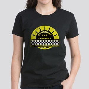 Sunshine Cab Company Distress Women's Dark T-Shirt