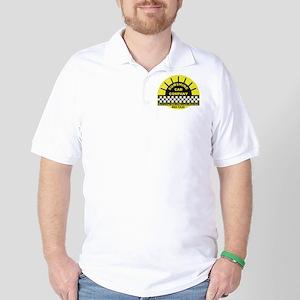 Sunshine Cab Company Distress Golf Shirt