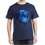 Celtic Knotwork Blue Moon Dark T-Shirt
