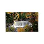 Upper Tahquamenon Falls In Fall Area Rug