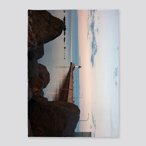 Duluth Harbor North Pier Light 5'x7'area R
