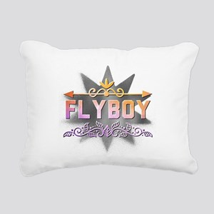 Flyboy Rectangular Canvas Pillow