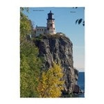 Split Rock Lighthouse Lake View 5'x7'area