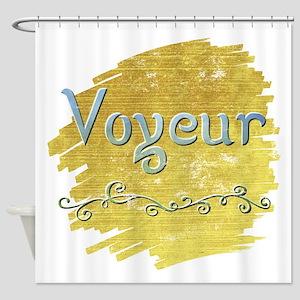 Voyeur Shower Curtain