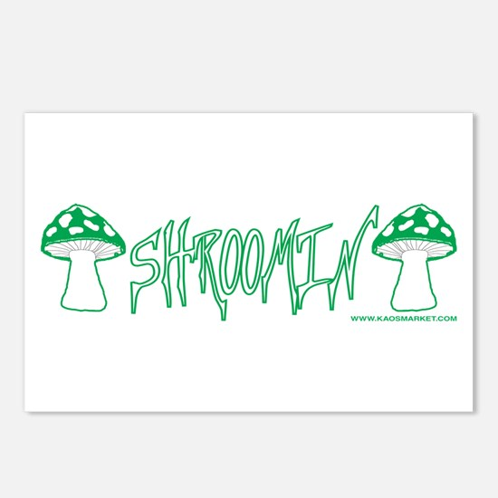 Shroomin' Postcards (Package of 8)