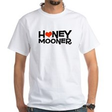 Honeymooner with Heart White T-Shirt