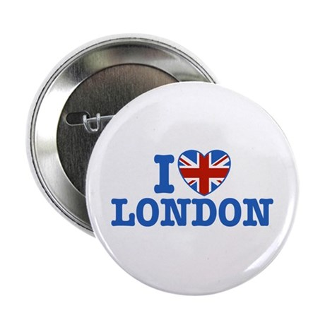 "I Love London 2.25"" Button"