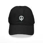 Wilson Badge on Black Cap