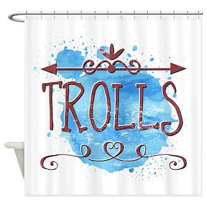 Trolls Shower Curtains