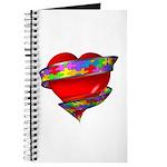 Red Heart w/ Ribbon Journal