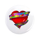 Red Heart w/ Ribbon 3.5
