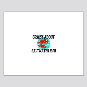 Crazy About Saltwater Fish Small Poster