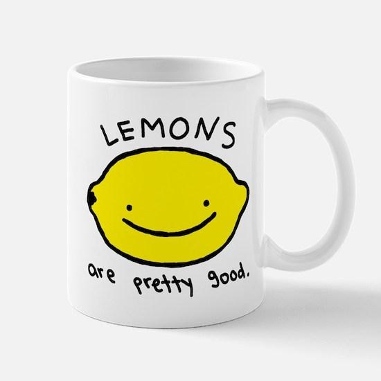 Pretty Good Lemons Mug