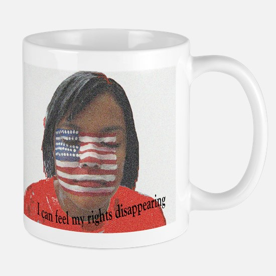 Disappearing Rights Mug