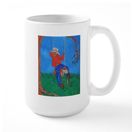 Little Cowboy Large Mug