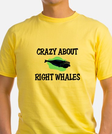 Crazy About Right Whales T