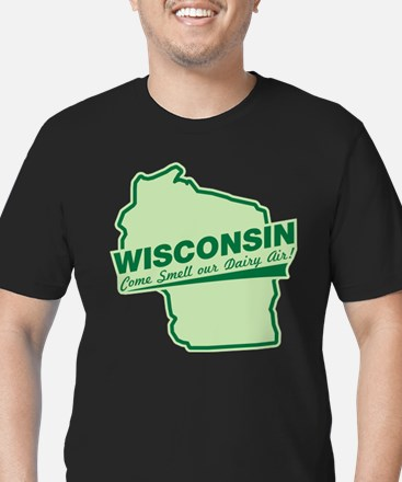 wisconsin - smell our dairy air T