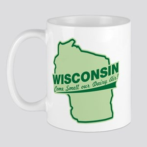wisconsin - smell our dairy air Mug