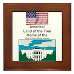 Presidential Framed Tile