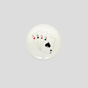4 Aces! Mini Button