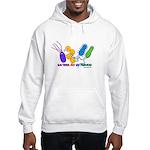 Bacteria are My Friends Hooded Sweatshirt