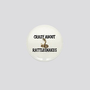 Crazy About Rattlesnakes Mini Button