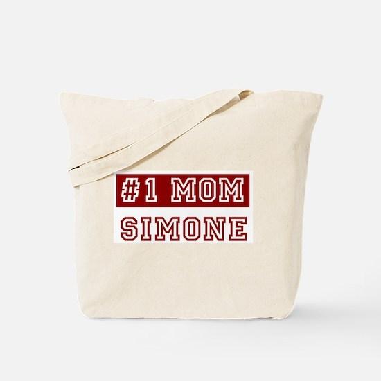 Simone #1 Mom Tote Bag