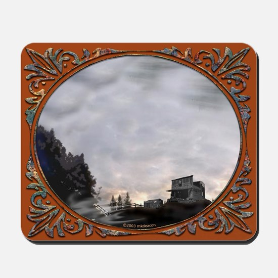 I Love Ghost Towns (#1-1) Mousepad