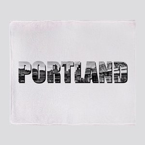 Unique Portland Throw Blanket