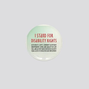 Disability Rights Mini Button