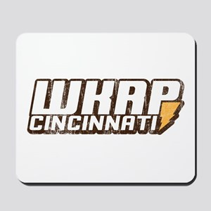 wkrp in cincinnati Mousepad