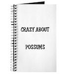 Crazy About Possums Journal