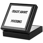Crazy About Possums Keepsake Box