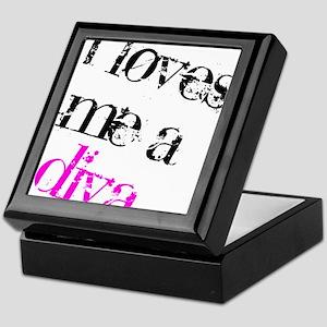 I Loves Me A Diva Keepsake Box