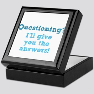 Questioning? Keepsake Box
