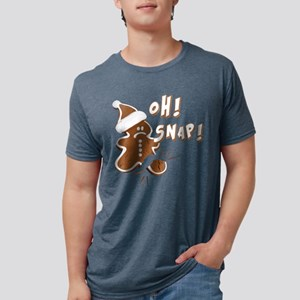 FUNNY OH Snap Gingerbread Man T-Shirt
