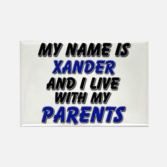 my name is xander and I live with my parents Recta
