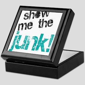 Show Me The Junk! Keepsake Box