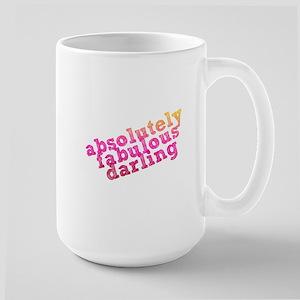 Absolutely Fabulous Darling Large Mug