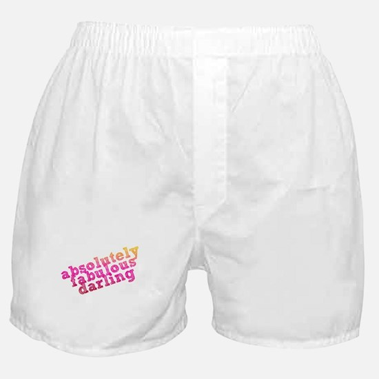 Absolutely Fabulous Darling Boxer Shorts
