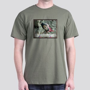 The BUSH War Anti-War Black T-Shirt